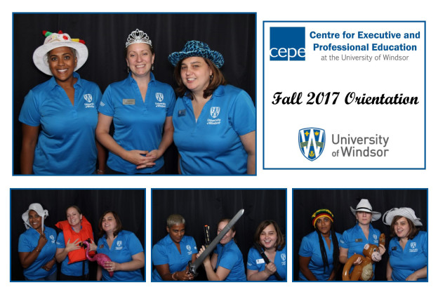 Fun Flash Photo Booth - UofW CEPE